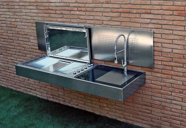 Barbecue Design au Gaz Krakatoa Elite Plus Line