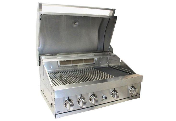 Captivating ... Barbecue Gaz Encastrable Acier Inoxydable Elite GTI4 ...
