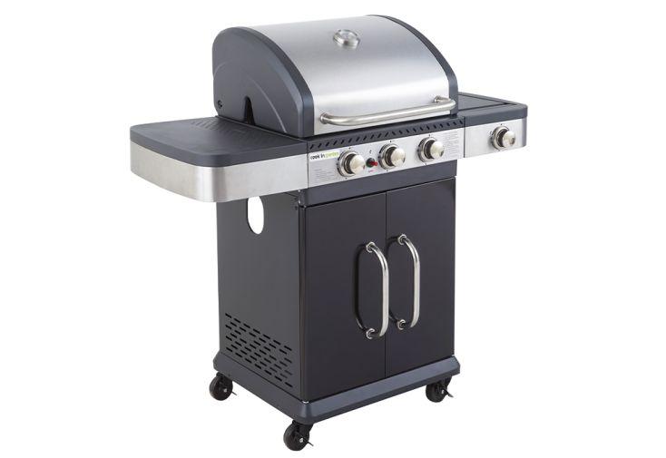 Barbecue à gaz fidgi 3 gaz butane ou propane