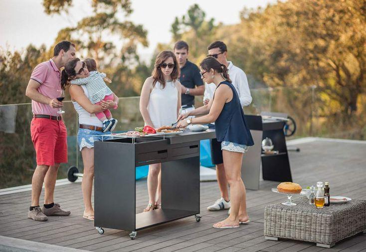 Barbecue Métal GOB01
