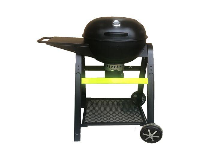 Barbecue à charbon de bois rond 57 cm diamètre 10 personnes