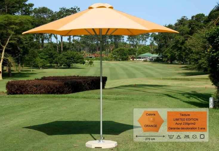 Parasol Basic Hexa 270 Limited Orange