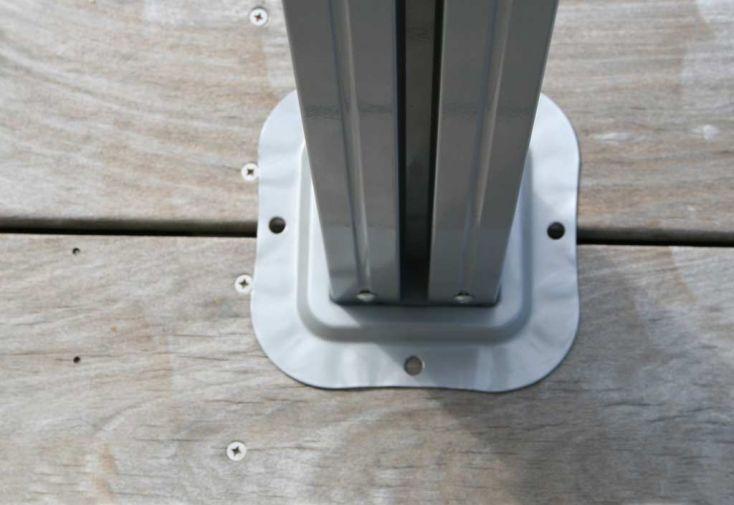 Tonnelle Pergola Aluminium Brise Soleil 3x3