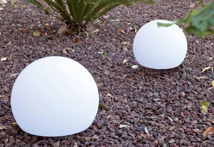 Boule Lumineuse Blanche Autonome 50x40cm (l,h)
