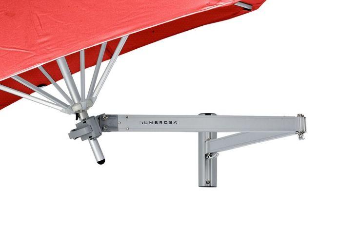 bras classique en aluminium articulé pour parasol Paraflex