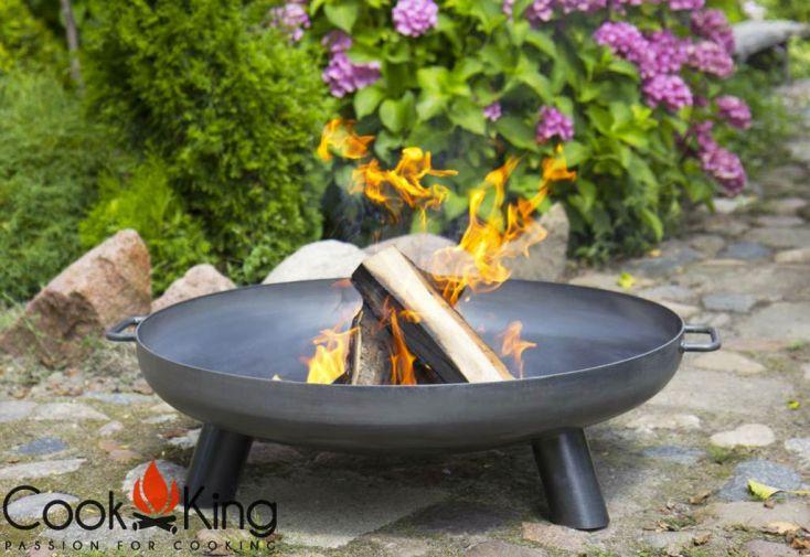 Bras ro en acier bali grill inox sur tr pied 180 cm - Grille pour barbecue sur mesure en acier inox ...