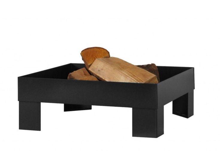 Braséro Pan 6 Acier Laqué Noir (plusieurs dimensions)