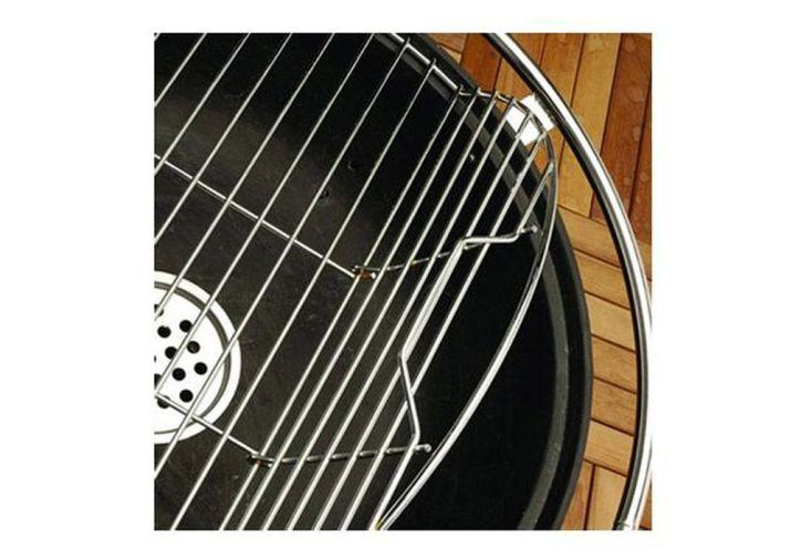 braséro en acier avec grille de cuisson pour se transformer en barbecue
