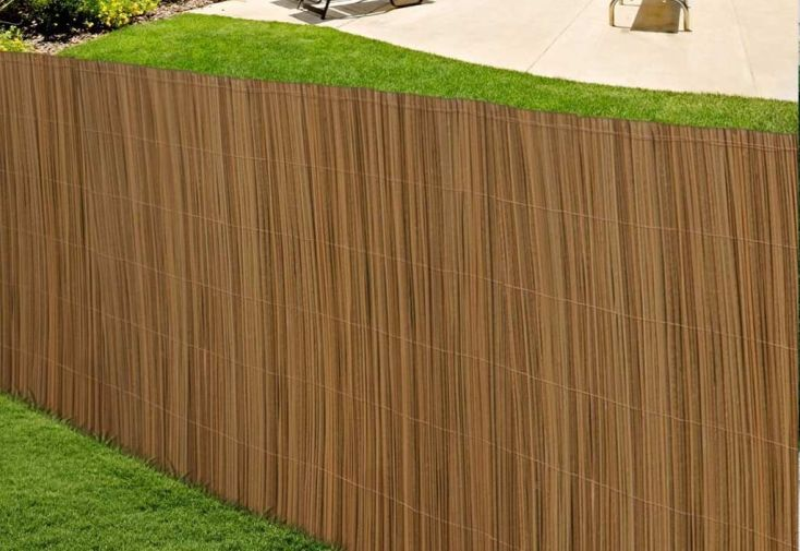 Canisse PVC Imitation Bois 1x3m (De 5 à 8 Canisses)