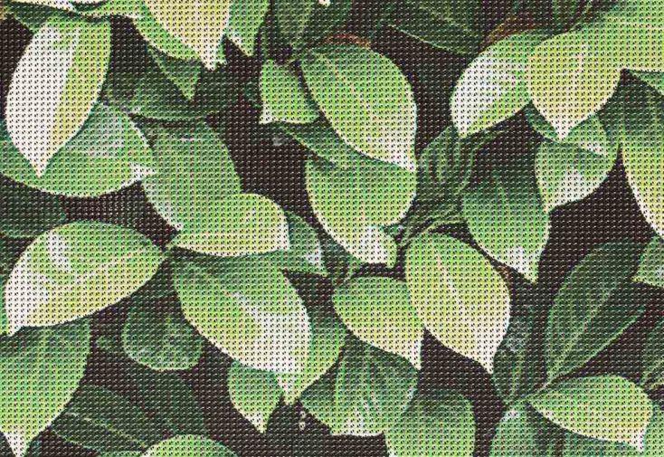 Brise Vue Décoratif en Polyester Laurier au m²