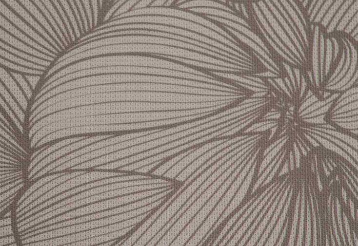 Brise vue d coratif en polyester magnolia taupe au m for Brise vue polyester
