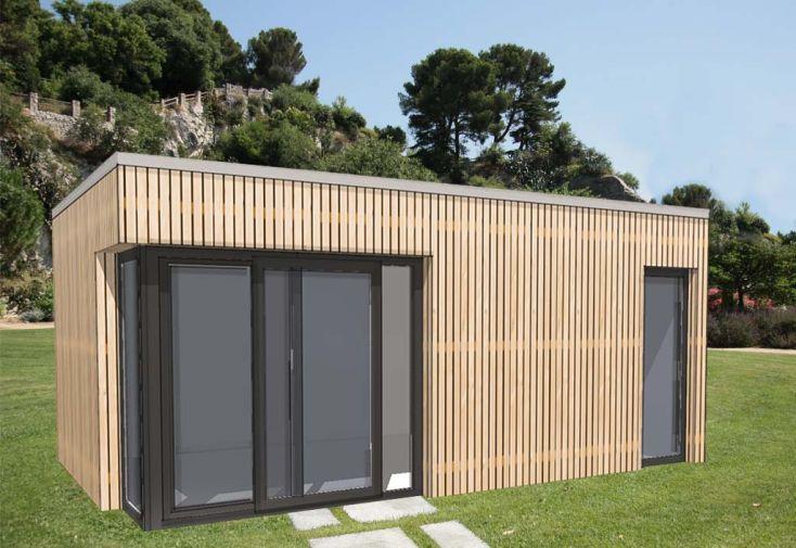 Bungalow Design Studio avec Baie d'Angle + Porte (635x375)