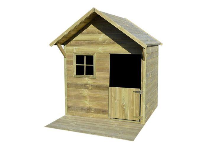 Cabane de jardin en bois traité autoclave maisonnette d'enfant