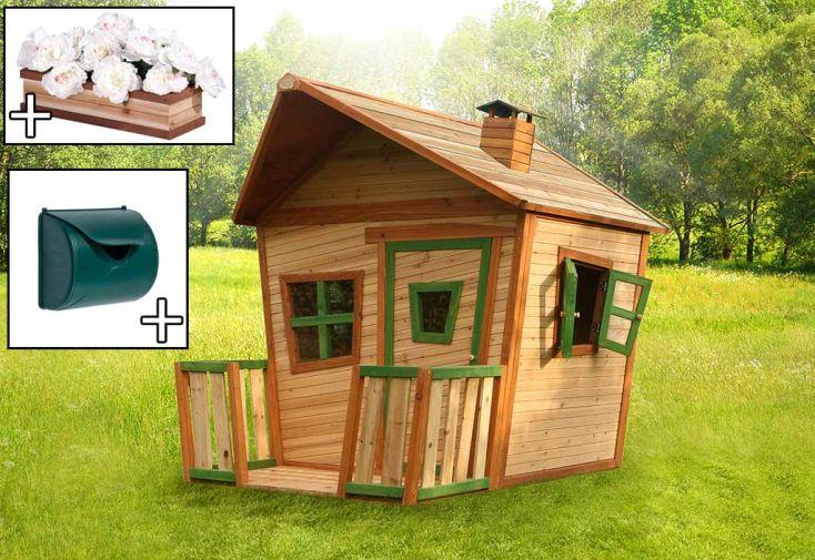 Maison Enfant Bois Jesse + Accessoires Offerts