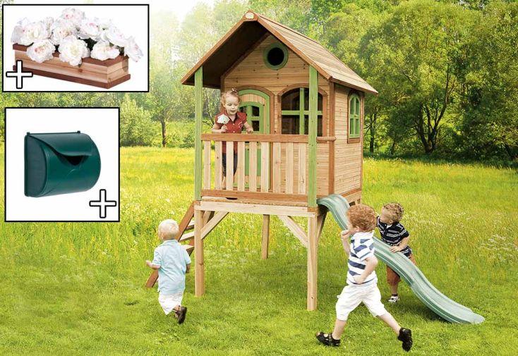Maison Enfant Bois Laura + Accessoires Offerts