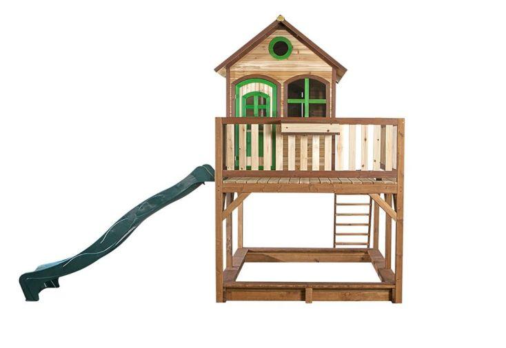 Maison Enfant Bois Liam 1 + Accessoires Offerts