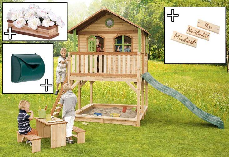 Maison Enfant Bois Marc + Accessoires Offerts