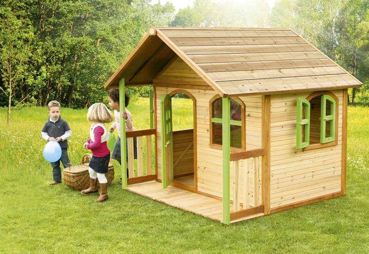 Maison Enfant Bois Milan + Accessoires Offerts