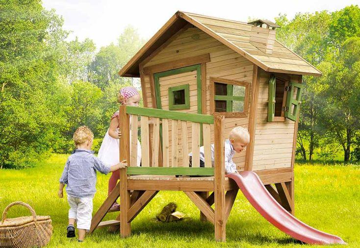 Maison Enfant Bois Robin + Table Sable et Eau Offerte