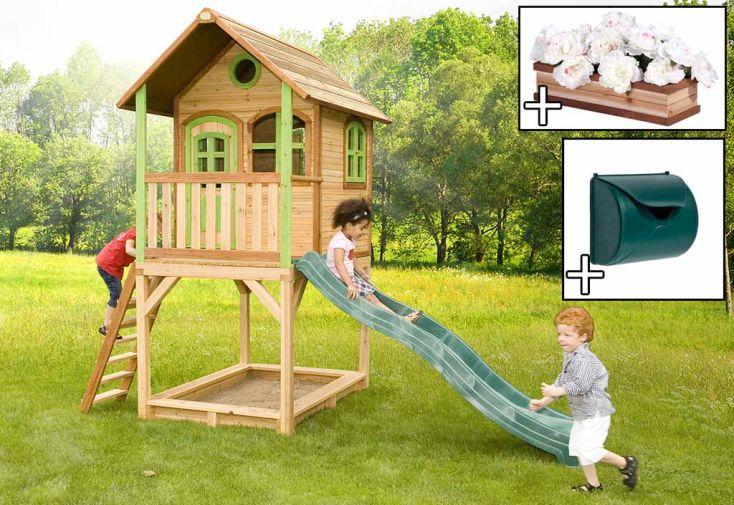 Maison Enfant Bois Sarah + Accessoires Offerts