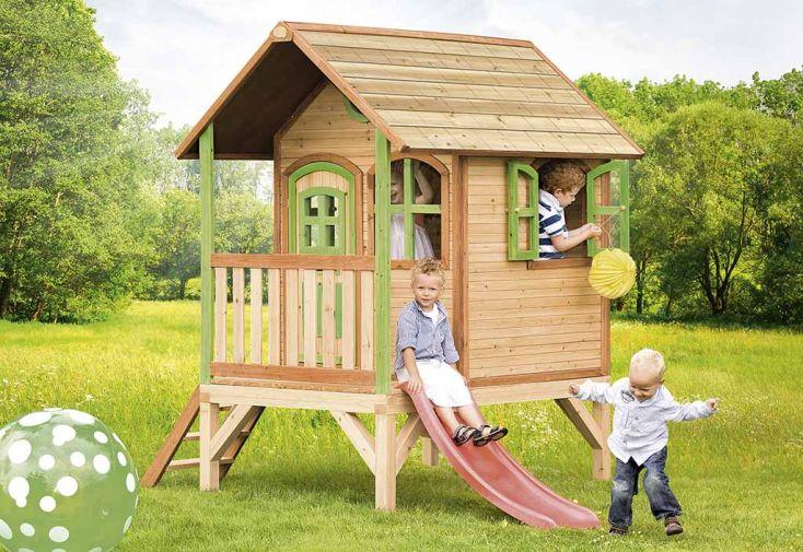 Maison Enfant Bois Tom + Accessoires Offerts