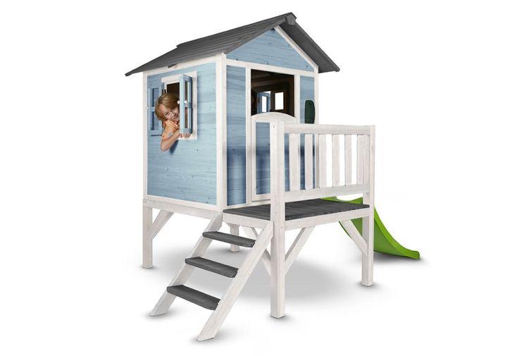 Maison pour Enfant Bois Lodge XL Colorée