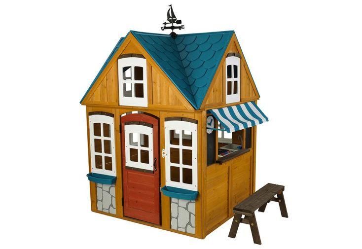 Cabane en bois Kidkraft pour enfant avec accessoires inclus