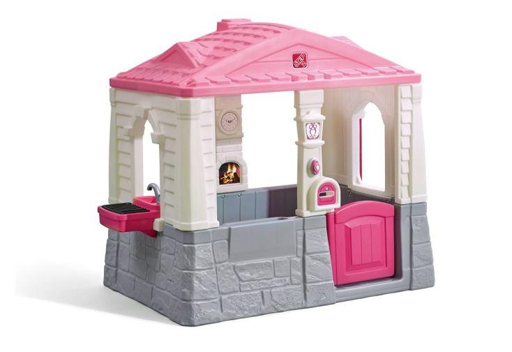 petite maison en plastique pour enfants Neat & Tidy Rose