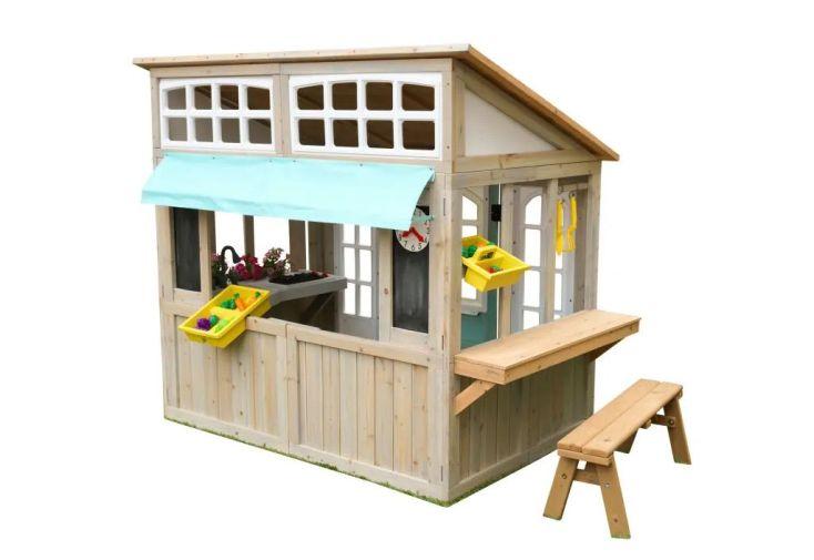 Cabane pour enfant en bois Kidkraft Maisonnette avec marchande