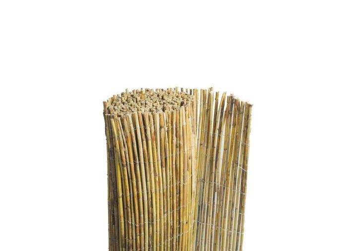Clôture Naturelle en Bambou (1,5x5m)