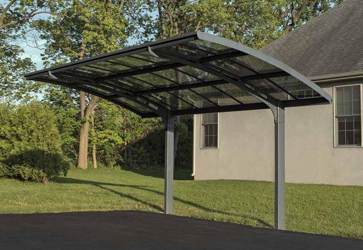 carport en aluminium autoportant arizona breeze 495 x 300 cm palram. Black Bedroom Furniture Sets. Home Design Ideas