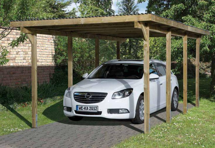 Carport Toit Plat Primus T2 (3x6)