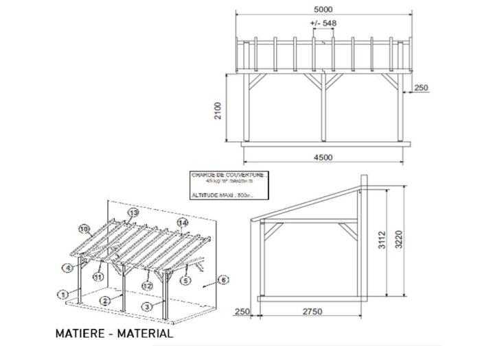 pergola bois sherwood 5x3x3 22 pergola bois sherwood jardipolys. Black Bedroom Furniture Sets. Home Design Ideas