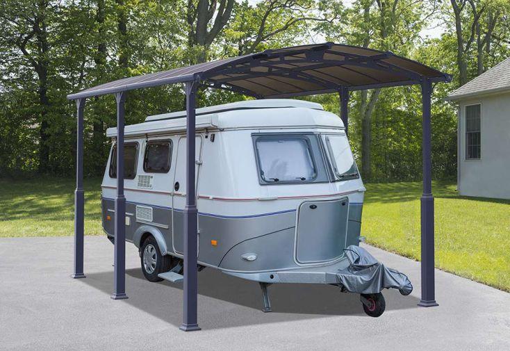 Carport Camping-Car Aluminium/Polycarbonate Palram Arcadia Alpine 5000