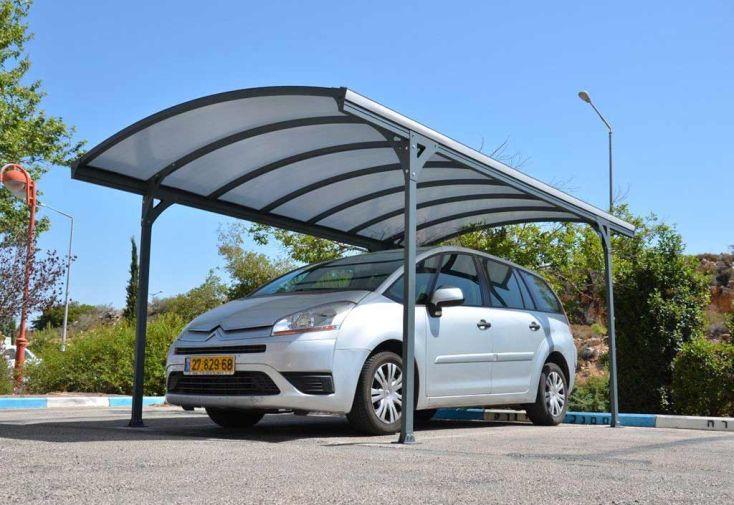 Carport Aluminium Delage (290x499x240cm)