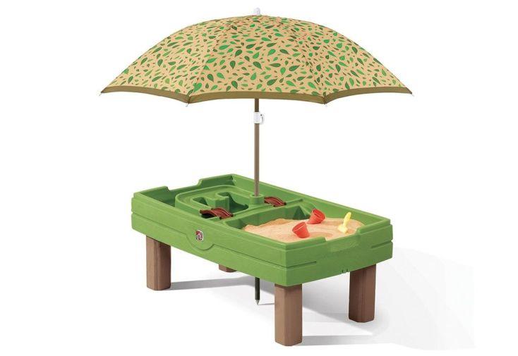 accessoires : parasol, ponts, bateaux, pelles, pots, couvercle