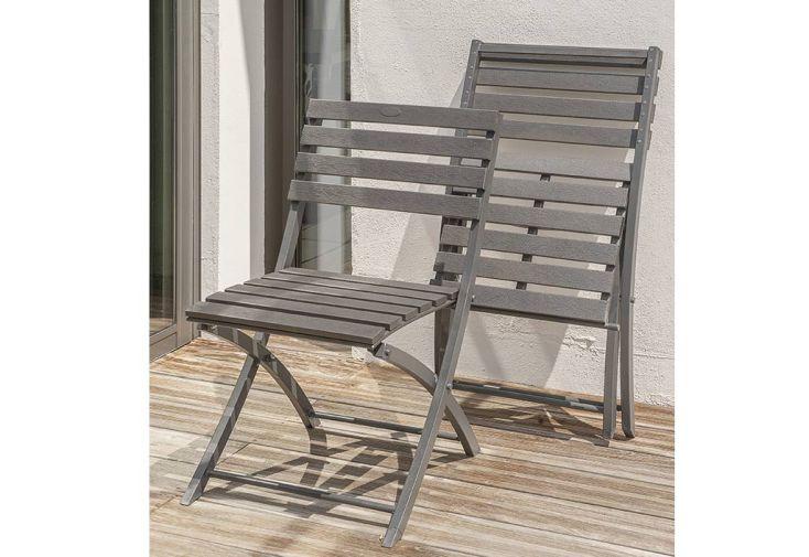Chaise de Jardin Miami Pliante en Aluminium