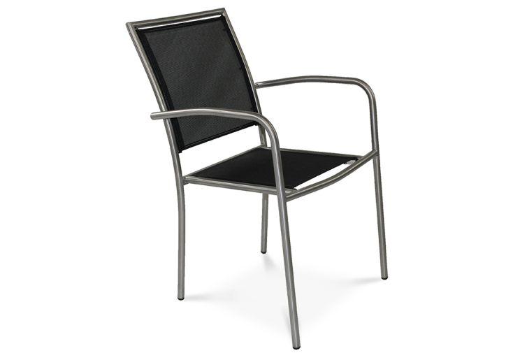 fauteuil de jardin à empiler moins de place