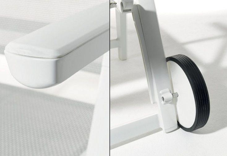 Bain de Soleil Alu et Textilux Trento Blanc (lot de 2)