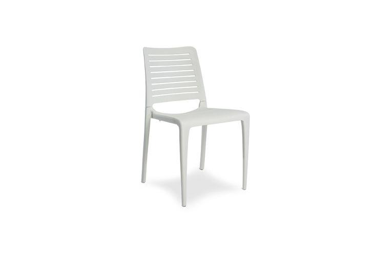 chaise de jardin polypropylène empilable