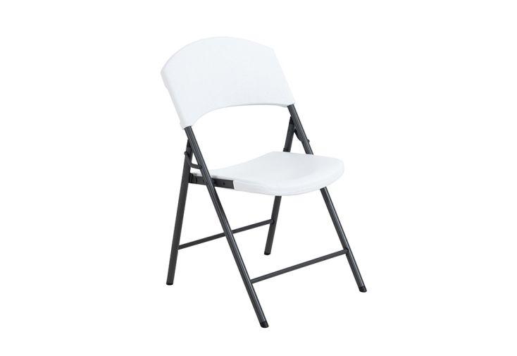 Chaise pliable en acier et résine Lifetime