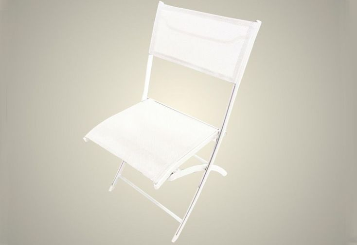 Chaise de Jardin Textilène Pliante (2 coloris)
