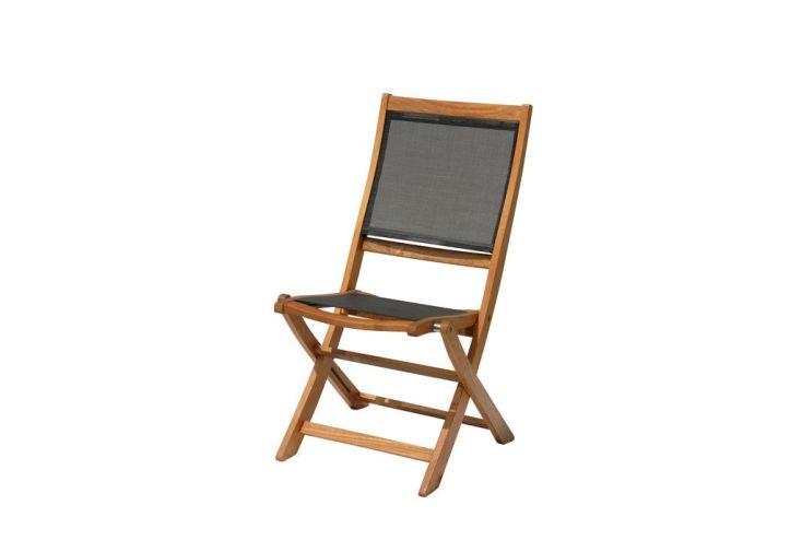 Salon de Jardin Rives : Table + 8 Chaises Pliantes