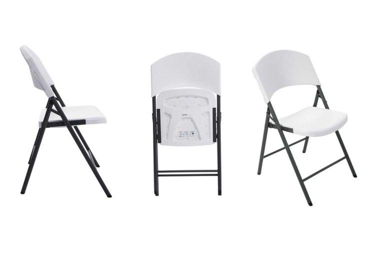 Chaises Pliables Très Résistantes (lot de 4)
