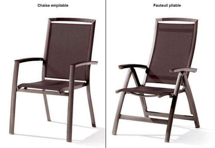 salon de jardin avec table extensible puroplan 6 chaises. Black Bedroom Furniture Sets. Home Design Ideas