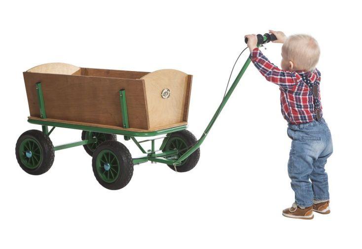 chariot de plage pour enfants dès 2 ans 92 cm de long