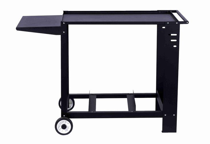 Chariot pour Plancha en Acier 80 x 55 cm Léon