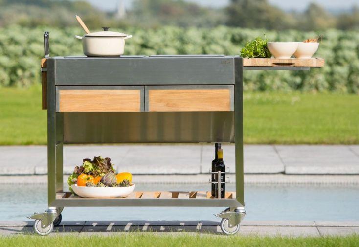 Cuisine d'extérieur Indu+ Chariot TomBoy Duo 2 plaques de cuisson
