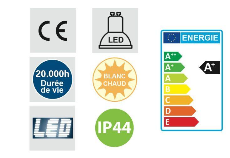Eclairage d'Extérieur LED (310x145mm)