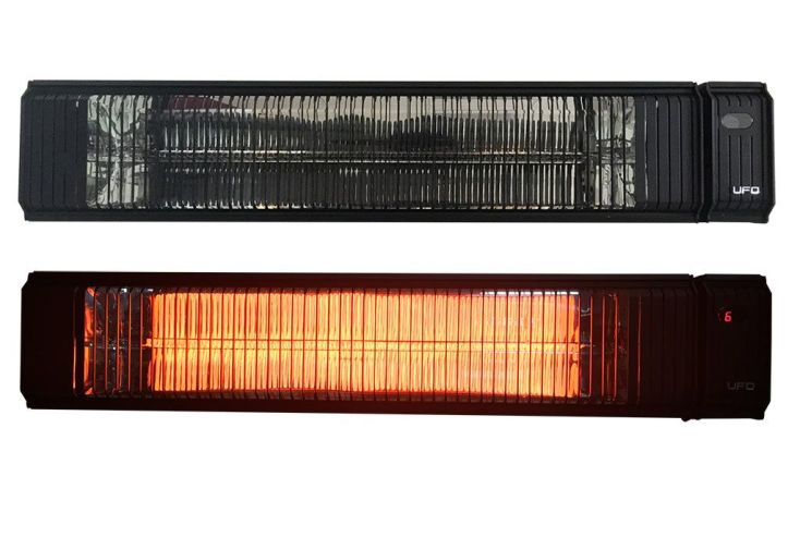 Chauffage Electrique Extérieur Solar 3000W + Télécommande